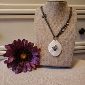 Silpada grace notes necklace